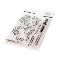 Pinkfresh Studio - Sweet Friend Floral stamp set