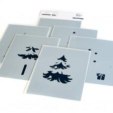 Pinkfresh Studio - Under the Christmas Tree stencil