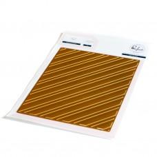 Pinkfresh Studio - Diagonal Stripes hot foil plate