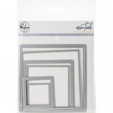 Pinkfresh Studio - Essentials: Stitched Squares die set