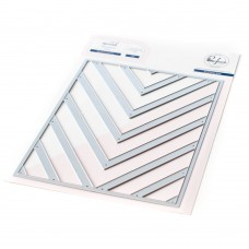Pinkfresh Studio - Essentials: Nested Chevron Die