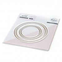 Pinkfresh Studio - Essentials: Blanket Stitched Circle Dies