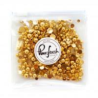 Pinkfresh Studio - Metallic Pearls: Gold