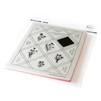 Pinkfresh Studio - Pop Out: Diamonds Cling Stamp Set