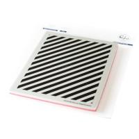 Pinkfresh Studio - Pop Out: Diagonal Stripes Cling Stamp Set
