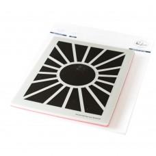 Pinkfresh Studio - Pop Out: Sunburst Cling Stamp Set