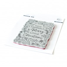 Pinkfresh Studio - Merry Little Christmas Cling Stamp