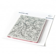 Pinkfresh Studio - Winterberry Background cling stamp