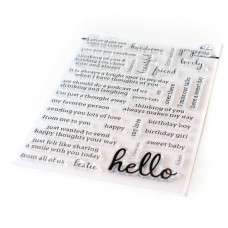 Pinkfresh Studio - Simply Sentiments - Hello Stamp Set
