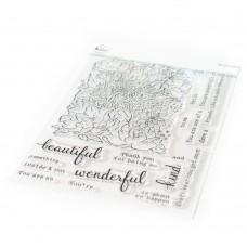 Pinkfresh Studio - Flower Garden Stamp Set