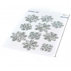 Pinkfresh Studio - Layered Snowflakes die set