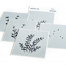 Pinkfresh Studio - Enchanting Meadows layered stencil set