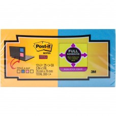 Post-it - Full Stick Notes (Super Sticky) - 1 pad (light pink)