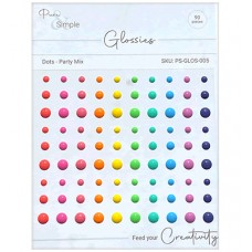 Pure and Simple - Glossies - Dots - Party Mix