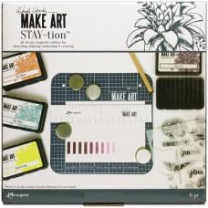 "Wendy Vecchi - MAKE ART STAY-tion 7"""