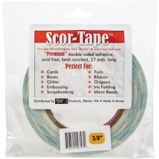 Scor-tape Double-sided Adhesive Tape - 3/8 inch