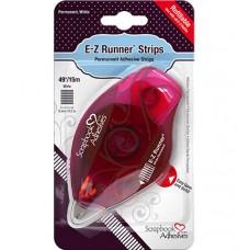 E-Z Runner Strips Refillable Dispenser – Permanent Adhesive Strips
