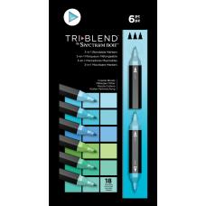 Spectrum Noir - TriBlend Markers - Coastal Blends (Set of 6)