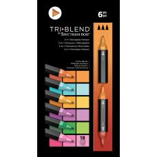 Spectrum Noir - TriBlend Markers - Exotic Blends (Set of 6)