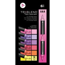 Spectrum Noir - TriBlend Markers - Floral Blends (Set of 6)