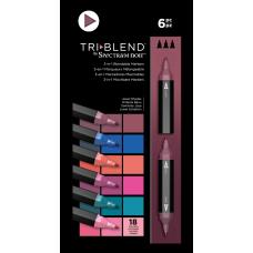Spectrum Noir - TriBlend Markers - Jewel Shades (Set of 6)