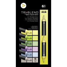 Spectrum Noir - TriBlend Markers - Natural Blends (Set of 6)