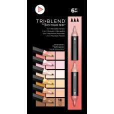 Spectrum Noir - TriBlend Markers - Portrait Blends (Set of 6)