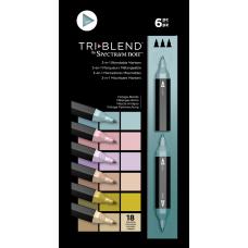 Spectrum Noir - TriBlend Markers - Vintage Blends (Set of 6)