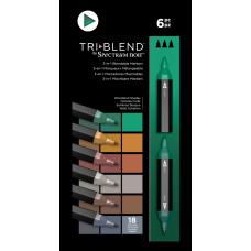 Spectrum Noir - TriBlend Markers - Woodland Shades (Set of 6)