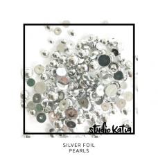 Studio Katia - Silver Foil Pearls