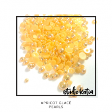 Studio Katia - Apricot Glacé Pearls