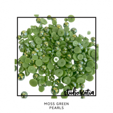 Studio Katia - Moss Green Pearls
