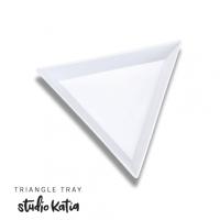 Studio Katia - Triangle Tray - White