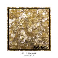 Studio Katia - Gold Sparkle Crystals
