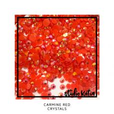 Studio Katia - Carmine Red Crystals