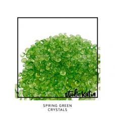 Studio Katia - Spring Green Crystals