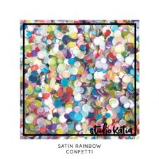 Studio Katia - Satin Rainbow Confetti