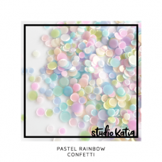 Studio Katia - Pastel Rainbow Confetti