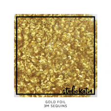 Studio Katia - 3 mm Sequins - Gold Foil