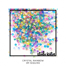 Studio Katia - 3 mm Sequins - Crystal Rainbow
