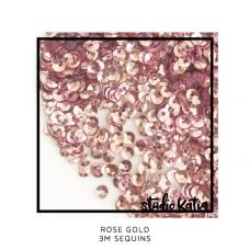 Studio Katia - 3 mm Sequins - Rose Gold