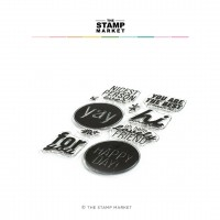 The Stamp Market - Award Winning Greetings Stamp Set