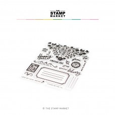 The Stamp Market - Envelope Accents Stamp