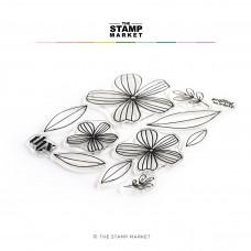 The Stamp Market - Flirtatious Flowers