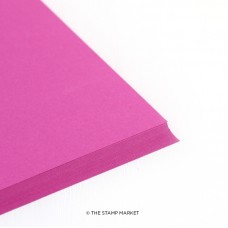 The Stamp Market - Fuchsia Cardstock (4 sheets)