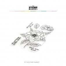 The Stamp Market - Heirloom Rose