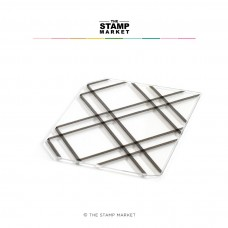 The Stamp Market - Jumbo Criss Cross Background