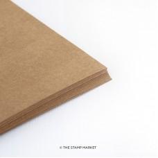 The Stamp Market - Kraft Brown Cardstock (24 sheets)