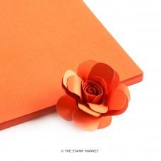 The Stamp Market - Mango Cardstock (4 sheets)