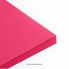 The Stamp Market - Raspberry Cardstock (4 sheets)